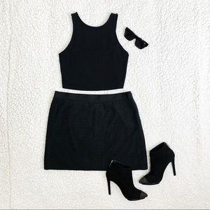 J. Crew Skirts - J. Crew Black Lace Skirt - Size 10